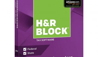 60% Off H&R Block Tax Software Deluxe + State Today Only