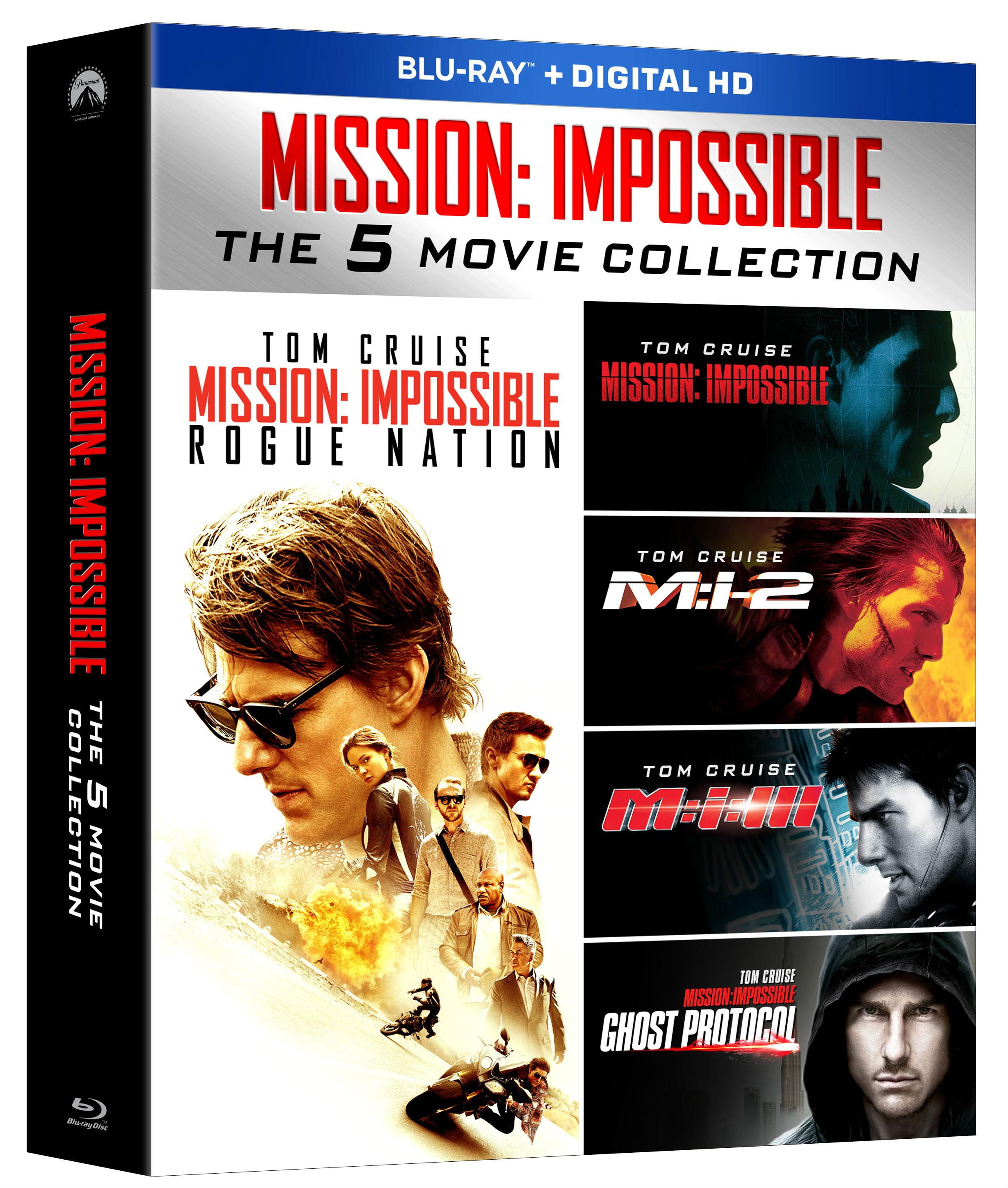 Mission impossible dvd set / Jacks frozen pizza