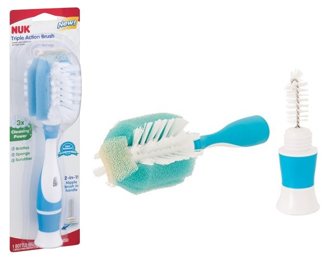 NUK Triple Action Bottle & Nipple Brush