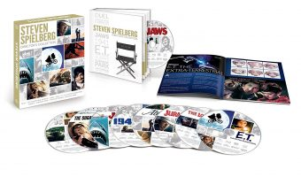 Steven Spielberg Director's Collection Blu-ray Box Set $23.49 (reg. $99.98)