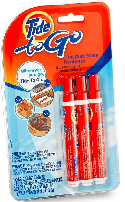 how to use tide to go instant stain remover