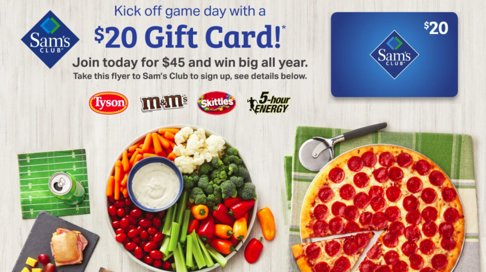 get a free $20 sam's club gift card #ad