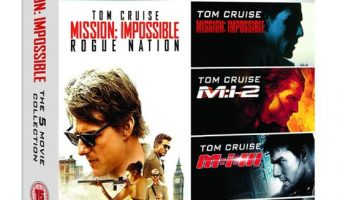 Mission Impossible 5 Movie Collection Blu-ray Box Set $19.99 (reg. $39.99)