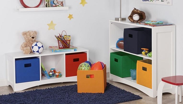 Superbe RiverRidge Kids 2 Pack Soft Storage Bins