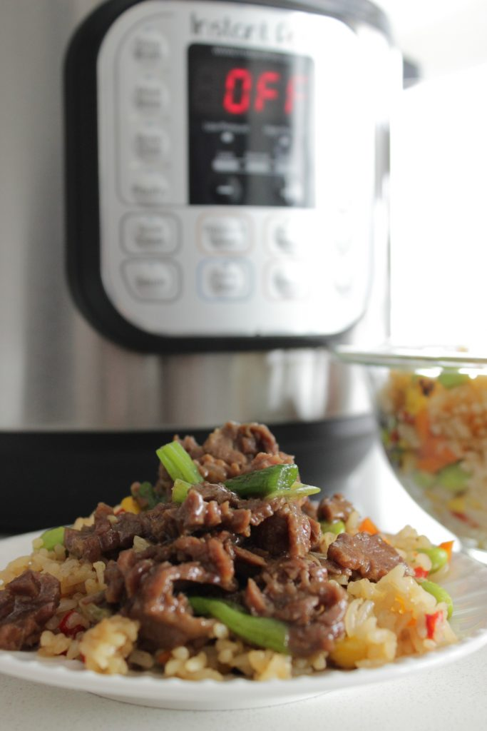 This Beef Pressure Cooker Mongolian Beef ill knock your socks off!