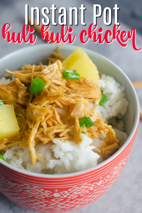Looking for instant pot chicken recipes? Healthy recipes are awesome in the Instant pot! This is one of our favorites!