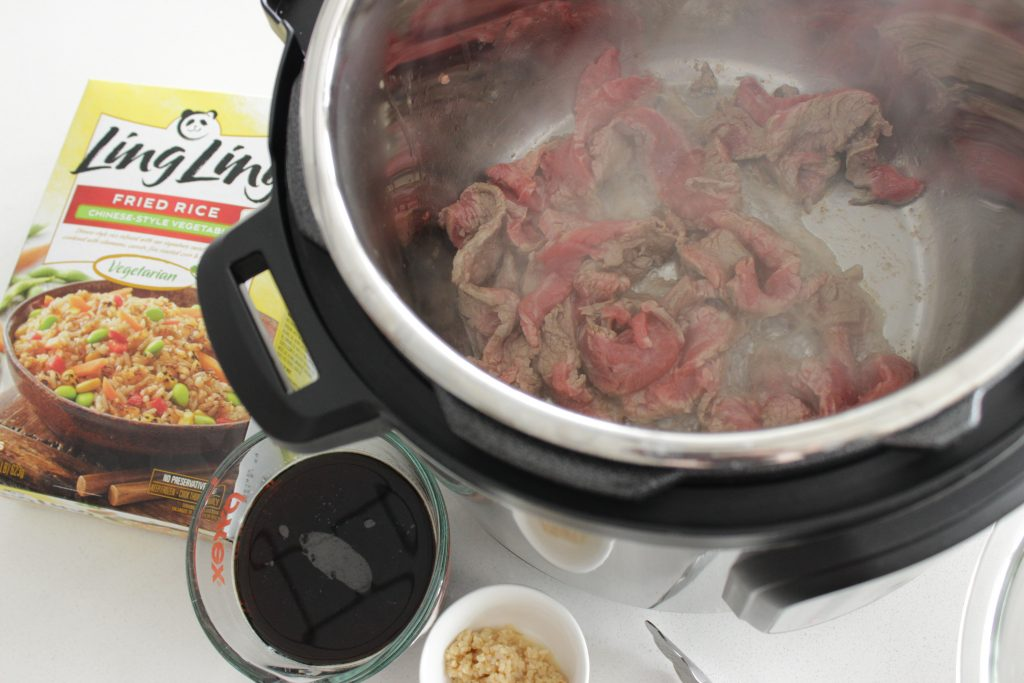 Mongolian Beef in the Instant Pot is a great starter Instant pot recipe!
