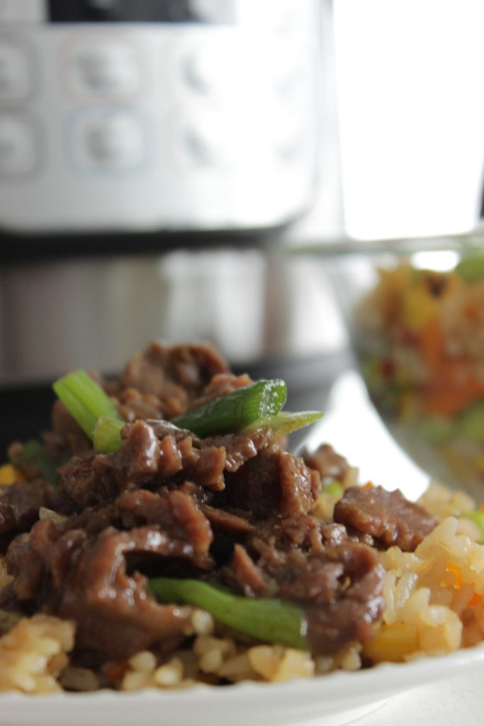 Easy Instant Pot Mongolian Beef In The Pressure Cooker