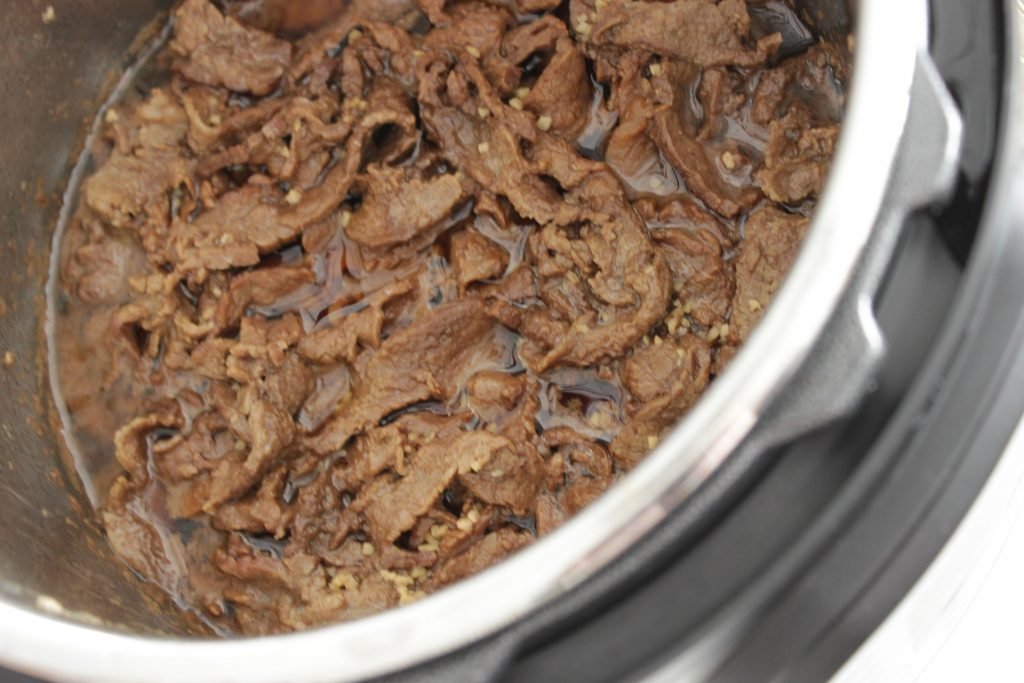 Beef recipes in the Instant pot are so good!