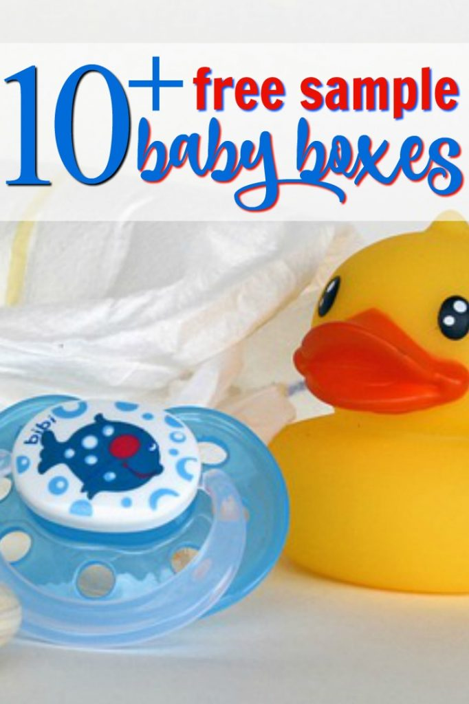 rubber ducky from baby boxes that you can request for free