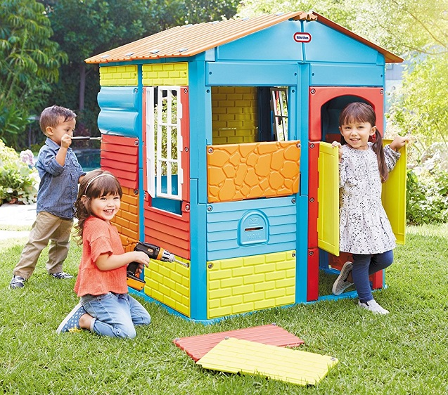 little tikes build a house