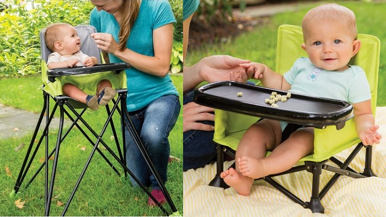 Pop And Sit Portable Booster Or High Chair