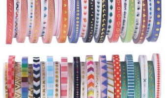 48 Assorted Rolls of Washi Tape $6.98