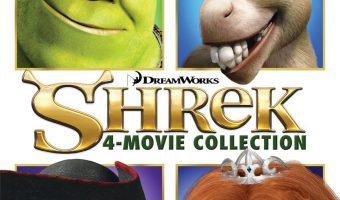 Shrek 4-Movie Collection On DVD $7.50 (reg. $29.98)
