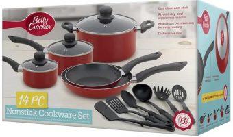 Betty Crocker 14 Piece Cookware Set $19.99 (reg. $69.99)