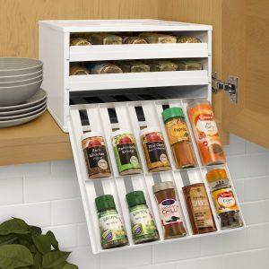 Chef's Edition Universal 30-Bottle Spice Organizer