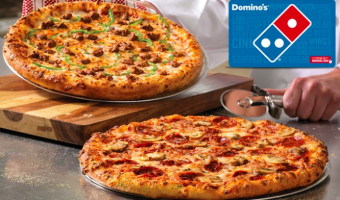 Possible $20 Domino's Gift Card ONLY $10