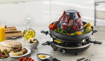 Electric Vertical Grill With Cheese Melting Trays $25.49 (reg. $89.99)