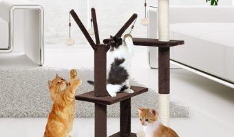 Finether 41″ Cat Tree Tower $27.99 (reg. $55.99)