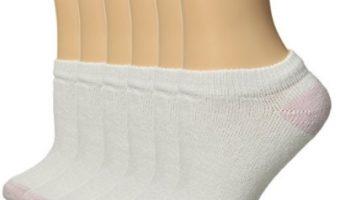 6-Pack Fruit of the Loom Women's No-Show Socks $3.12