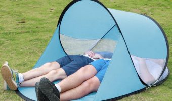 Instant Portable Beach Canopy $9.99