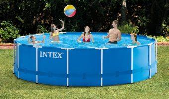 Intex 15ft X 48in Metal Frame Pool Set $199 (was $249)