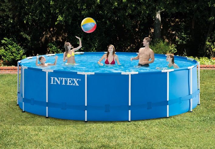 Intex 15ft X 48in Metal Frame Pool Set 199 Was 249