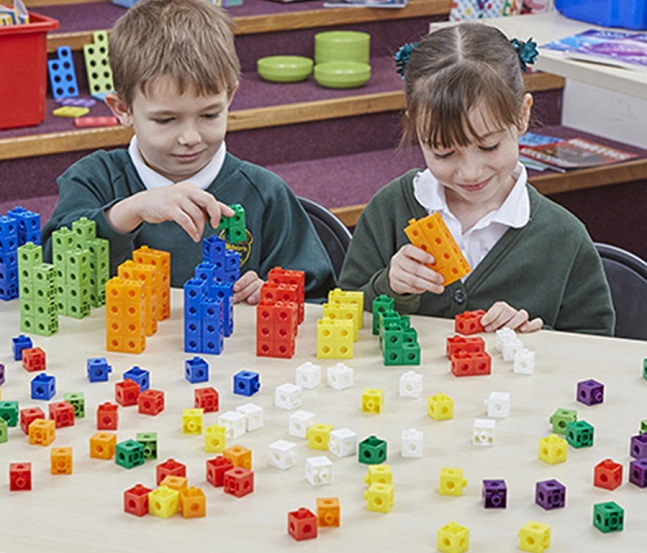Learning Resources 100ct. Mathlink Cubes