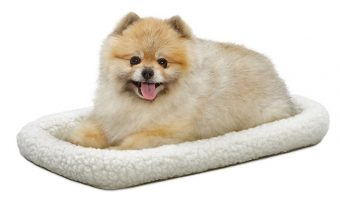 MidWest Deluxe 22″ Bolster Pet Bed $5.37 (reg. $14.99)