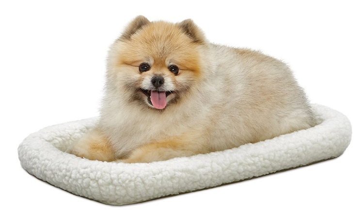 MidWest Deluxe 22 Bolster Pet Bed