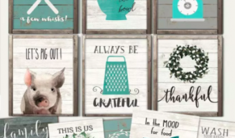 Rustic Kitchen Prints ONLY $2.97 Each!