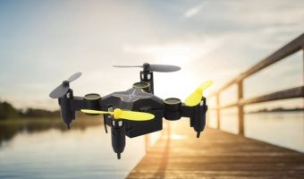 Sky Beetle Mini RC Drone with Camera $27.95