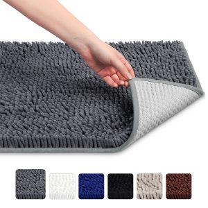 Soft Microfiber Shag Bathroom Rug