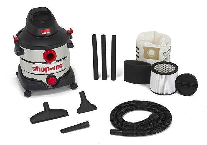 Stainless Steel 8-Gallon Shop-Vac