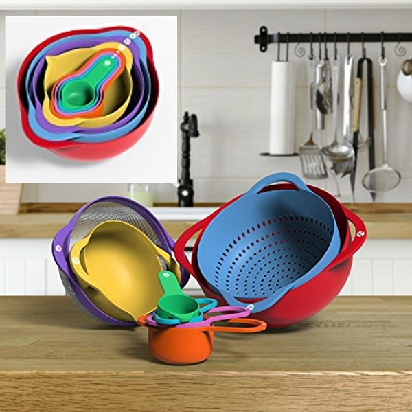 Vremi 13 Piece Mixing Bowl Set