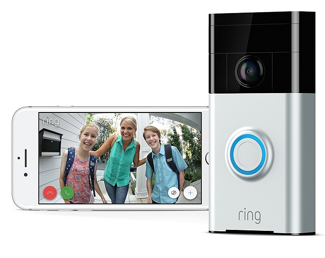 Wi-Fi Alexa Enabled Video Doorbell