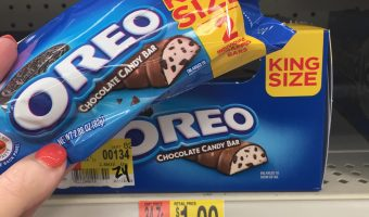 OREO Chocolate King Size Candy Bars + Enter to Win $200 Walmart Gift Card!