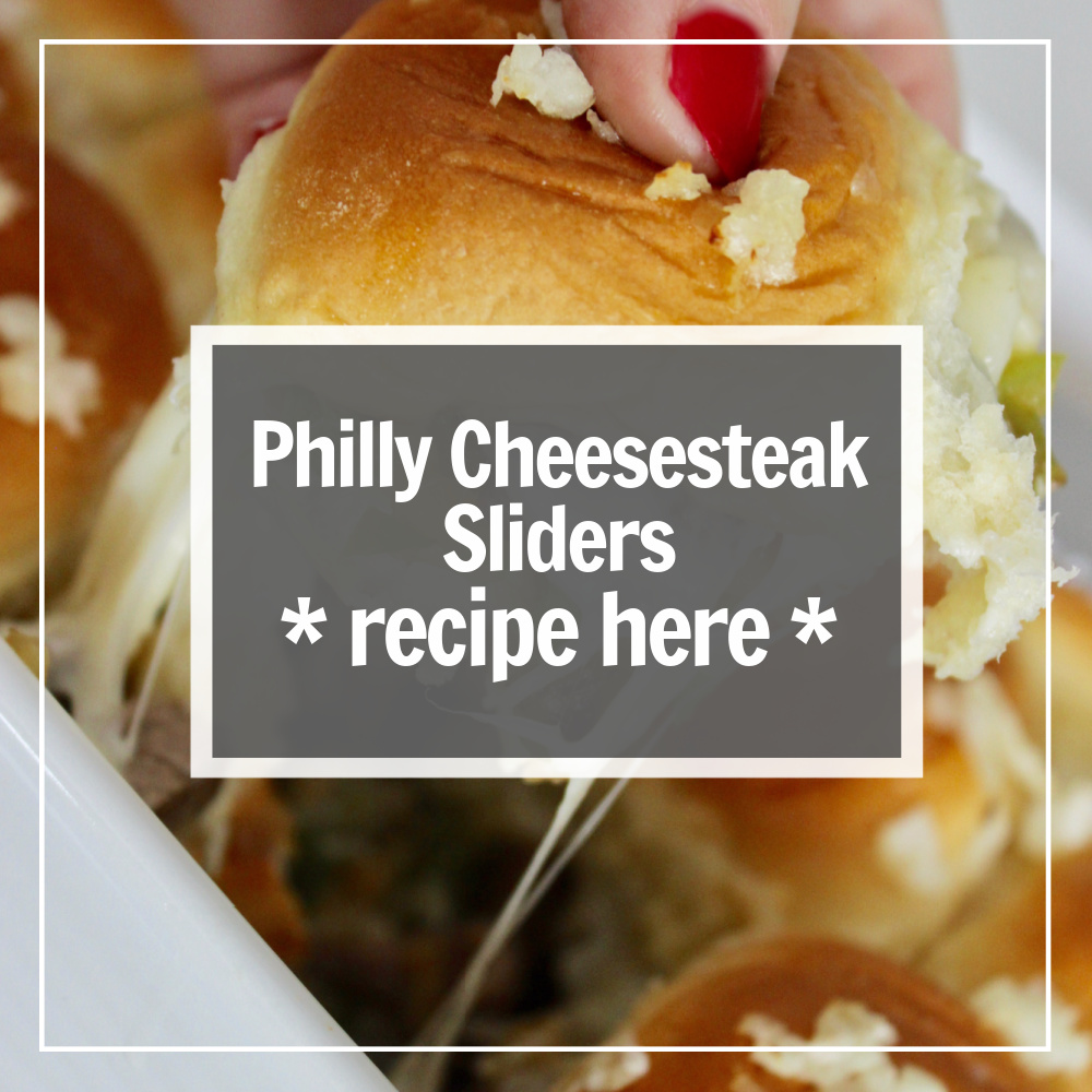 kings hawaiian philly cheesesteak sliders