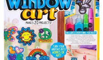 Create Your Own Window Clings Kit $9.97 (reg. $18.99)