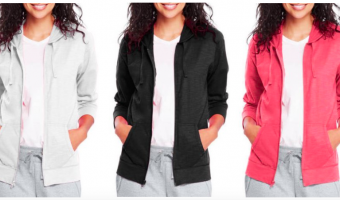 Hanes Women's Jersey Hoodies Only $8!