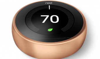 Nest Copper Learning 3rd Generation Thermostat Only $150 Shipped (Regularly $250)