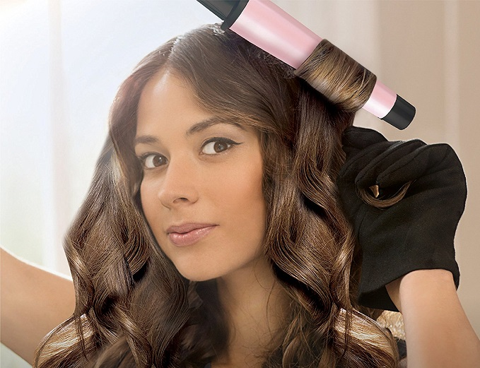 Remington Pro Curling Iron and Flat Iron