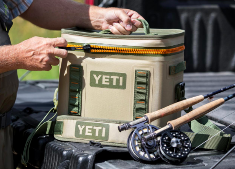 The Yeti Soft Cooler is on sale
