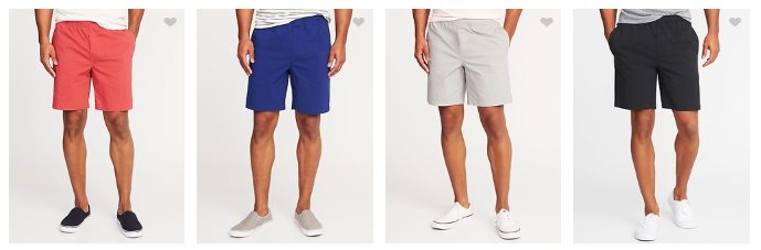 mens shorts from old navy