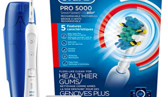 Amazon: Oral B Pro 5000 Electric Toothbrush w/ Bluetooth Ships for $54.94 (Reg. $85)