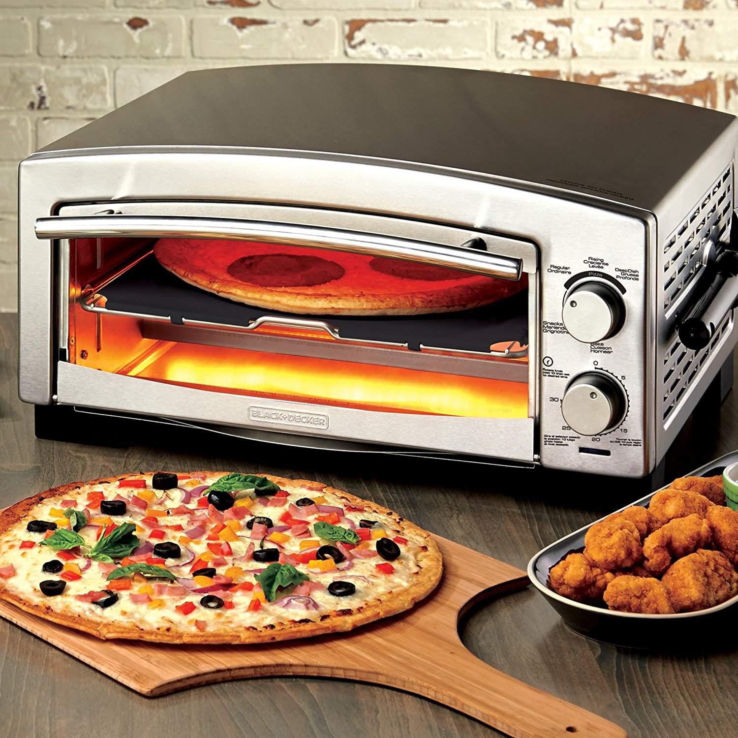 BLACK+DECKER 5-Minute Pizza Oven $69.99 (reg. $149.99)