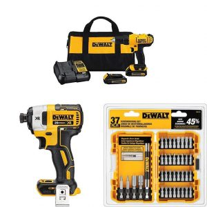 Dewalt MAX Lithium-Ion Driver Kit Bundle