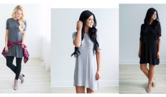 Jess Pocket Tee Dresses Just $12.99