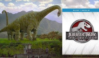 Jurassic Park Collection BluRay + Digital $16.99 Today Only (reg. $44.98)