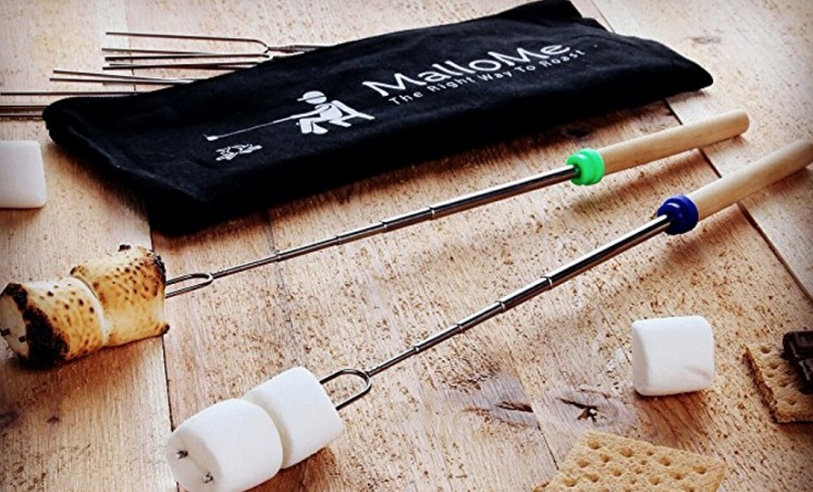 MalloMe Telescoping Marshmallow Roasting Sticks
